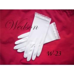 Rękawiczki komunijne- dziewczęce W-23