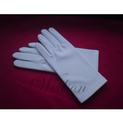 Rękawiczki białe do sztandaru - damskie