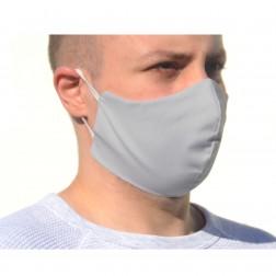 Maska bawełniana ochronna wielokrotnego użytku.
