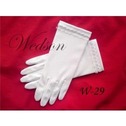 Rękawiczki komunijne- dziewczęce W-29